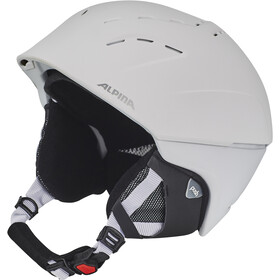 Alpina Spice Casque de ski, white matt